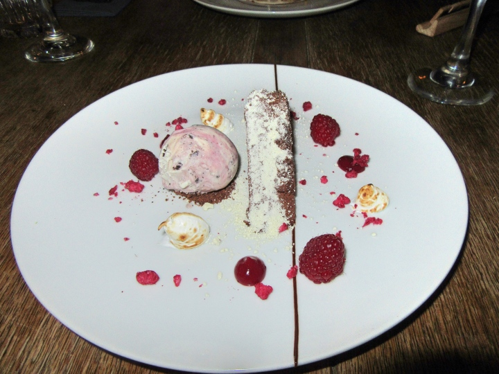 Desert at The Vicarage, Cranage, Cheshire, England