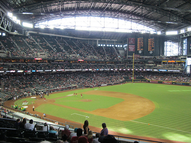 Chase Field, Phoenix in Arizona