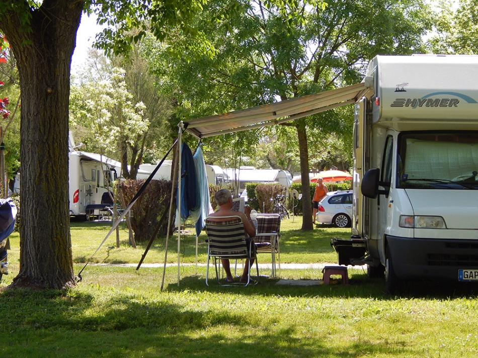 Camping at Pra' delle Torri Holiday Centre, Italy