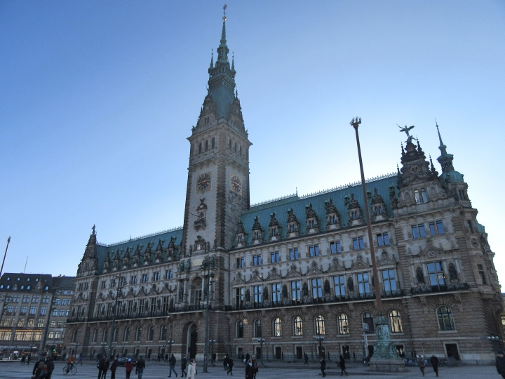 Rathaus in Hamburg, Germany