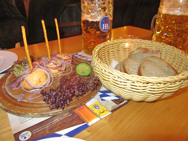Food at Hofbrau Hamburg
