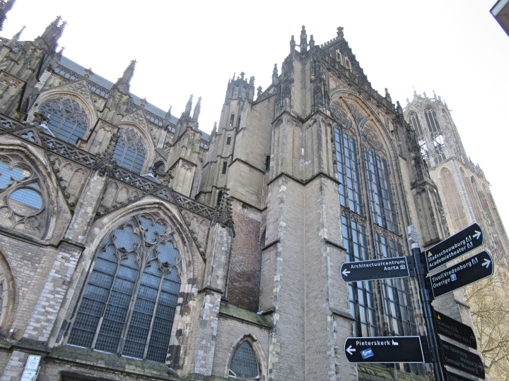 St Martin's Cathedral (Dom Church) in Utrecht, The Netherlands