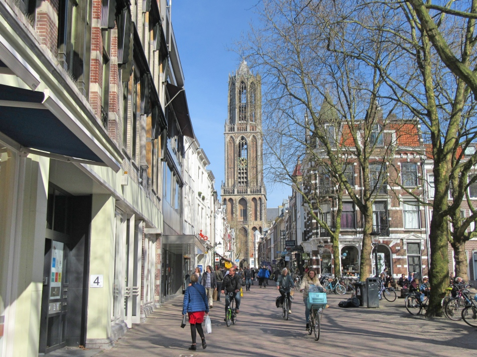 Streets of Utrecht in The Netherlands