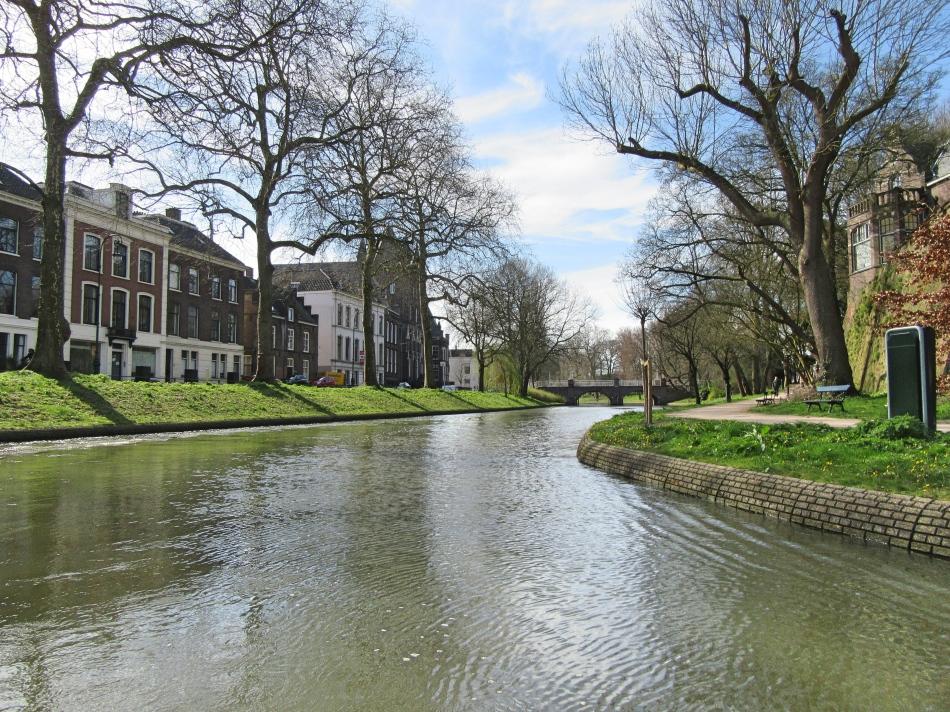 Canals in Utrecht, The Netherlands