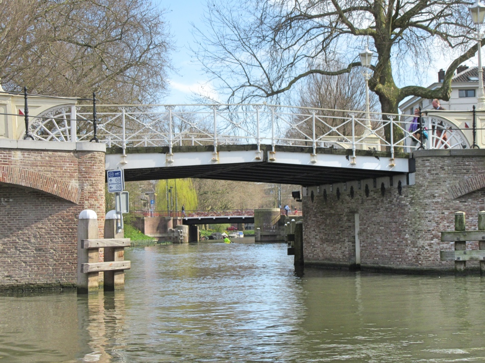 Canal Cruise in Utrecht, The Netherlands