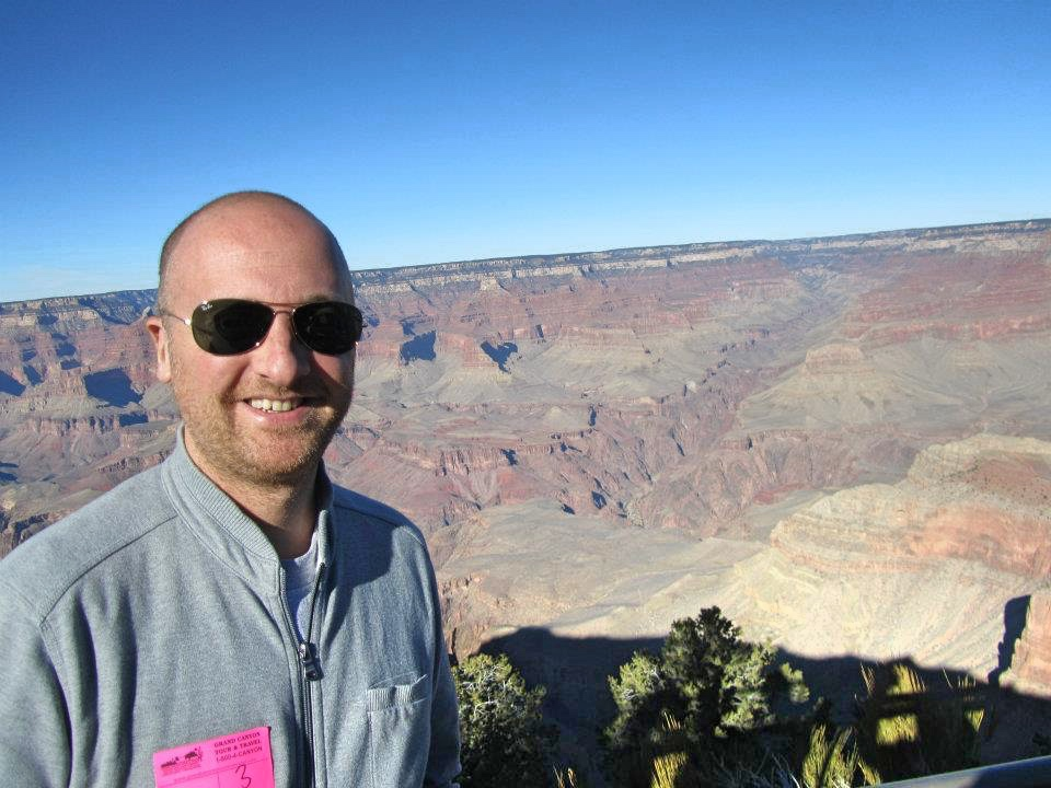 Mr ESLT at The Grand Canyon