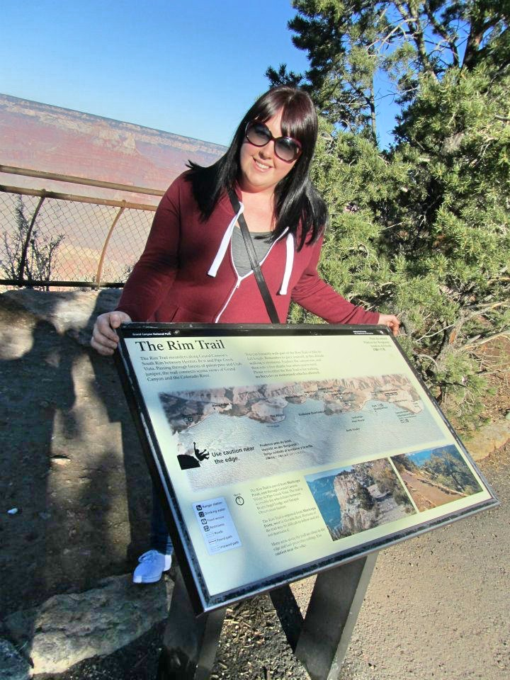 The Rim Trail at The Grand Canyon