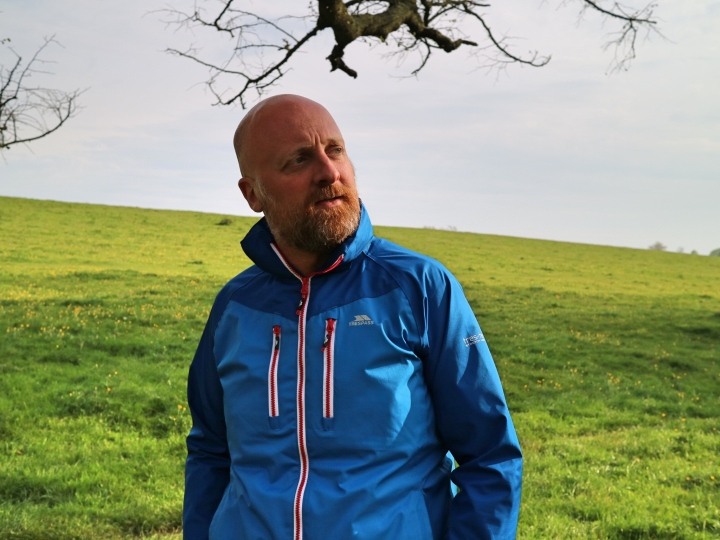 Mr ESLT in Trespass Jacket Hiking
