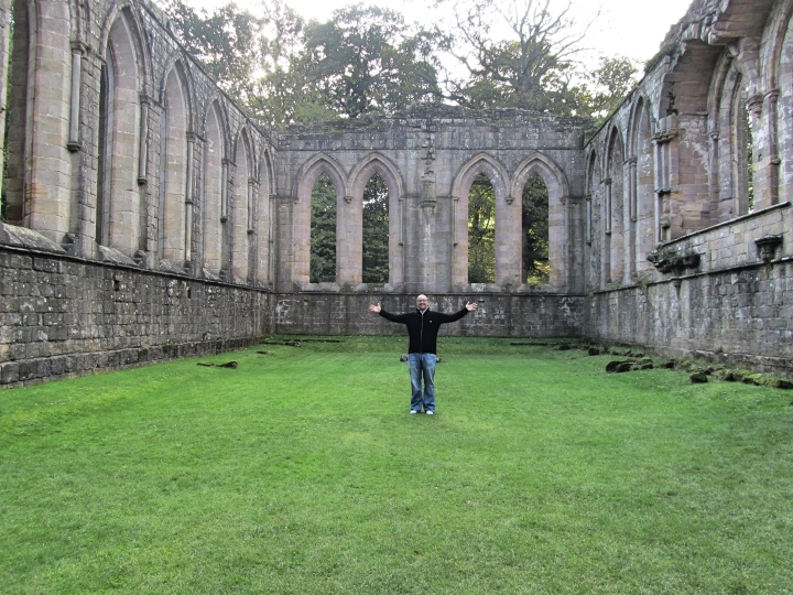 Fountains Abbey, The Yorkshire Dales, England