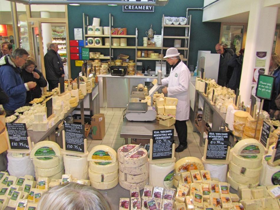 Wensleydale Creamery, The Yorkshire Dales, England