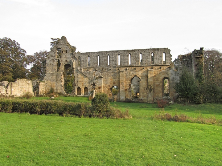 Jervaulx Abbey, The Yorkshire Dales, England