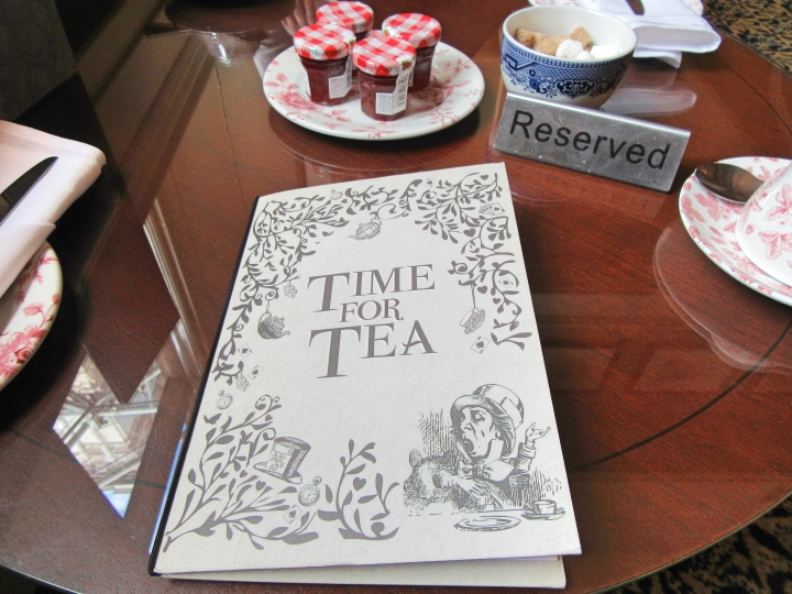 Time for tea at the Macdonald Burlington, Birmingham