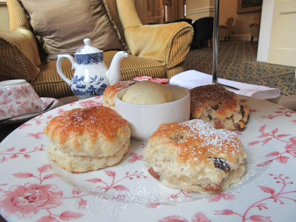 Scones at Macdonald Burlington Hotel, Birmingham