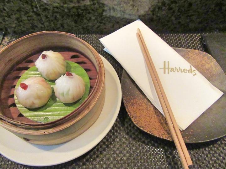 England: An Asian Taste Sensation at Mango Tree, Harrods,London