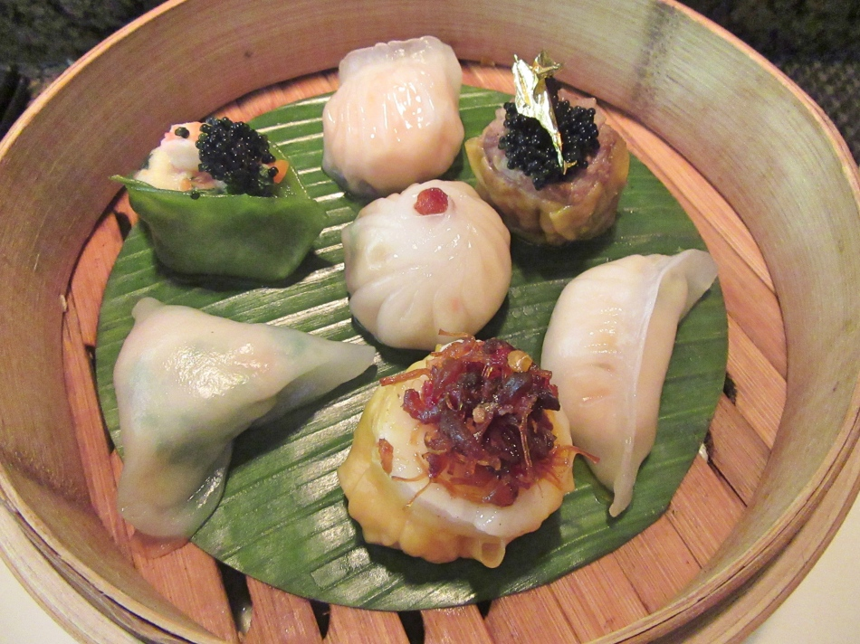 Dim Sum Platter at Mango Tree, Harrods, London