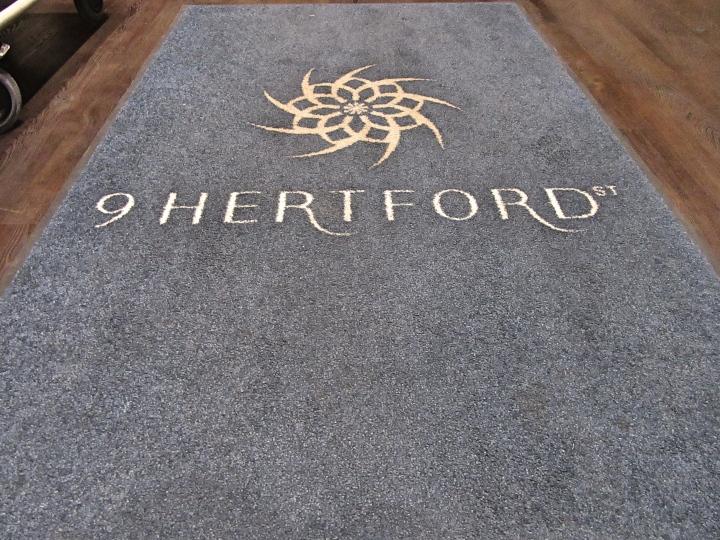 Check in at 9 Hertford Street, London