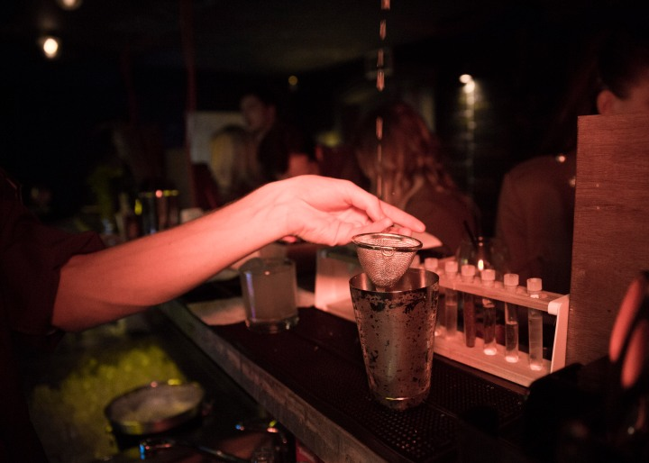 Bar at The Bletchley Pop Up, London