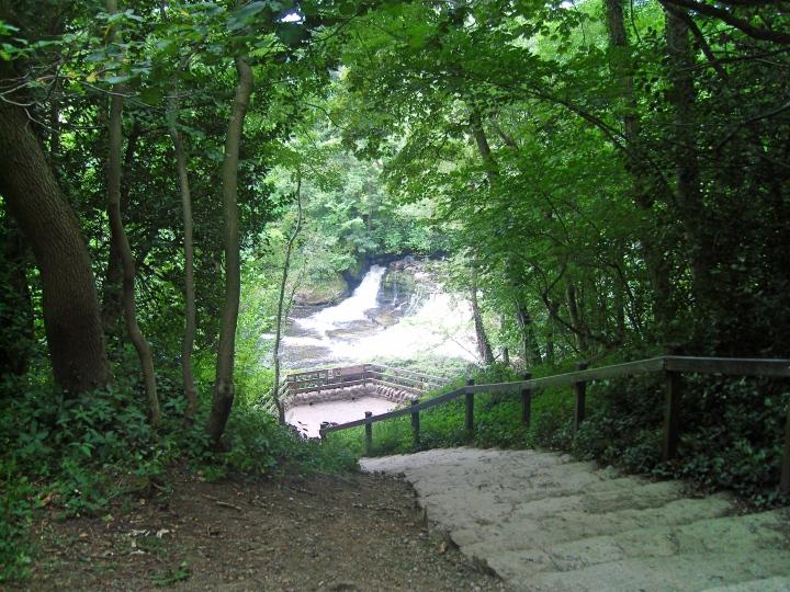 Aysgarth Falls, The Yorkshire Dales, England