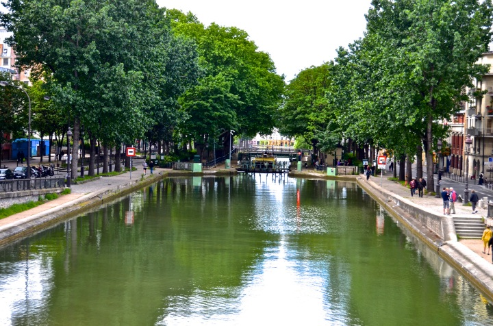 Canal St. Martin, Paris, France