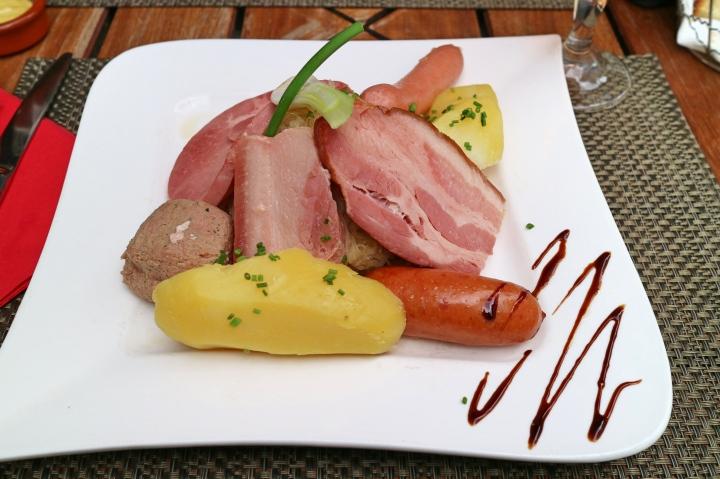 Meat in Strasbourg, France