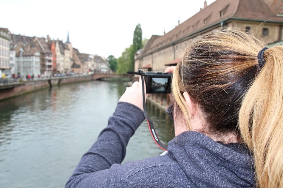 Vicky in Strasbourg, France