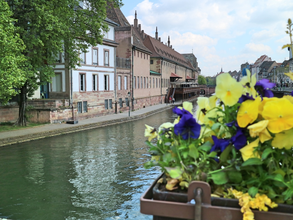 Strasbourg Canal, France
