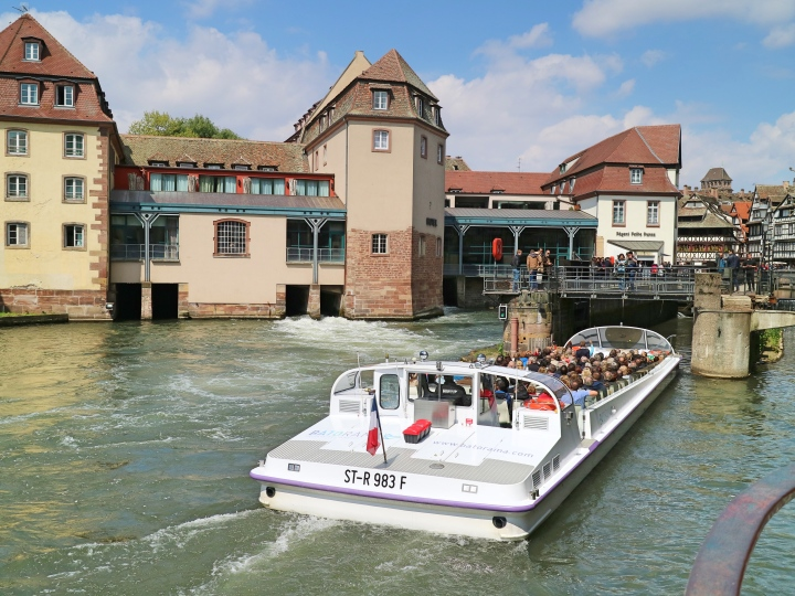 Canal Cruise, Strasbourg, France