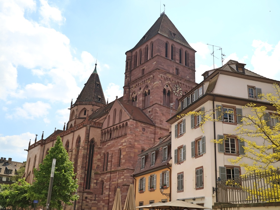 Church Strasbourg, France