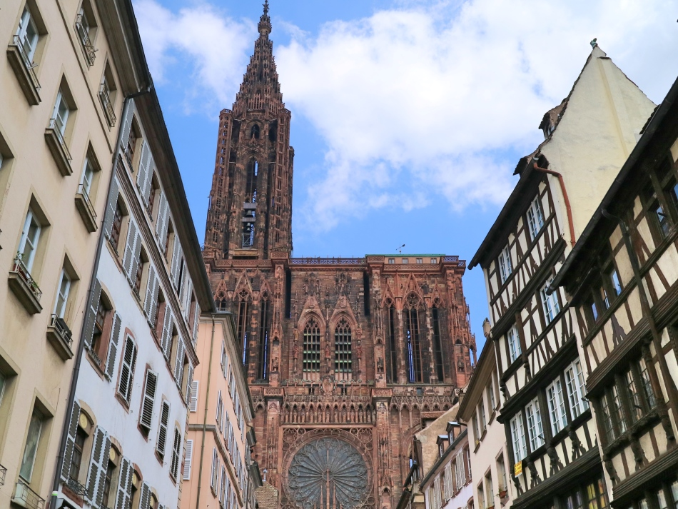 Cathedral in Strasbourg, France