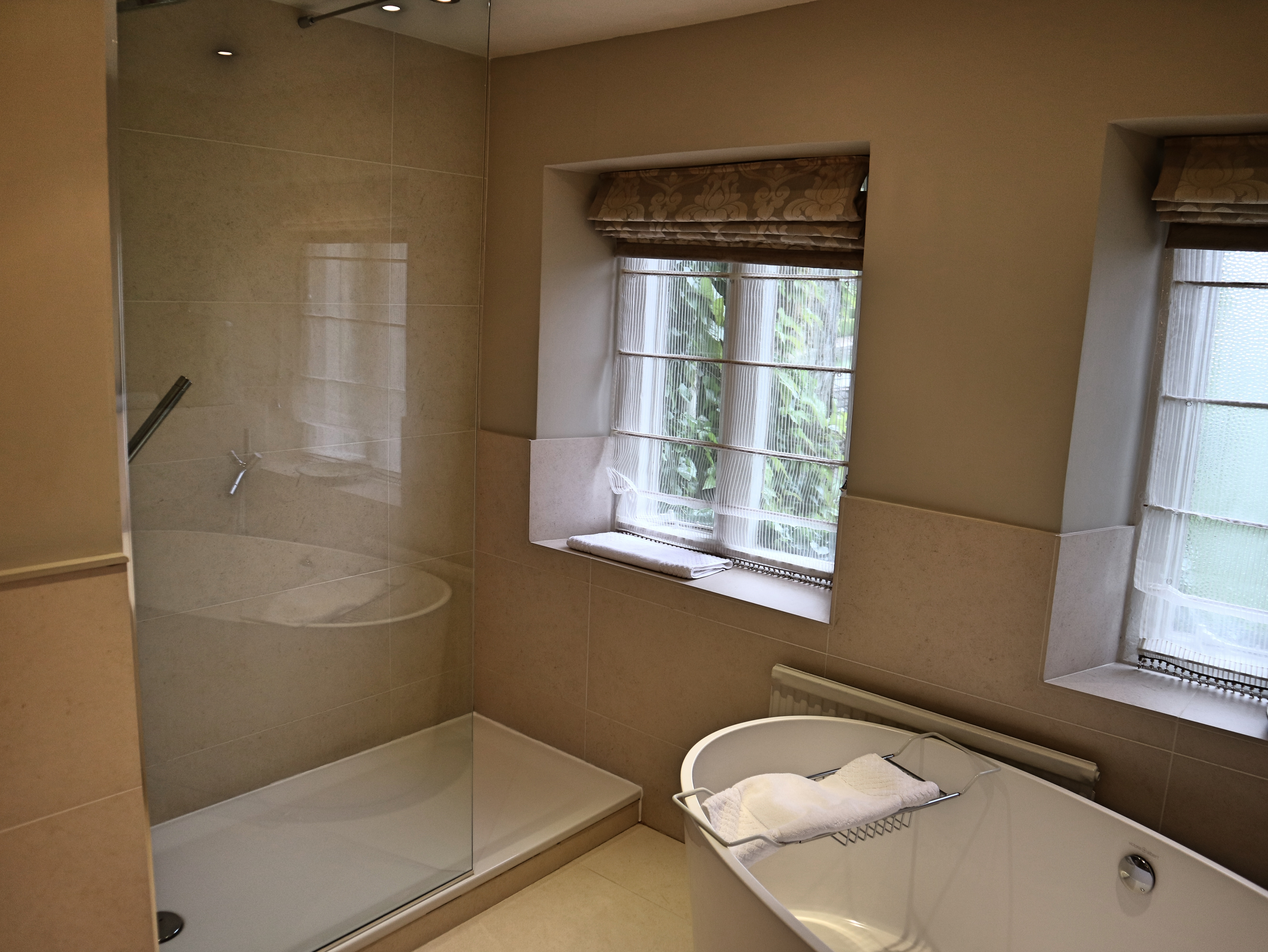 Walk in Shower at Lords of The Manor, The Cotswolds