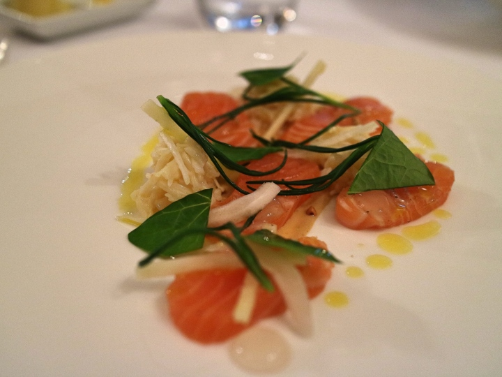 Salmon at Lords of The Manor, The Cotswolds, England