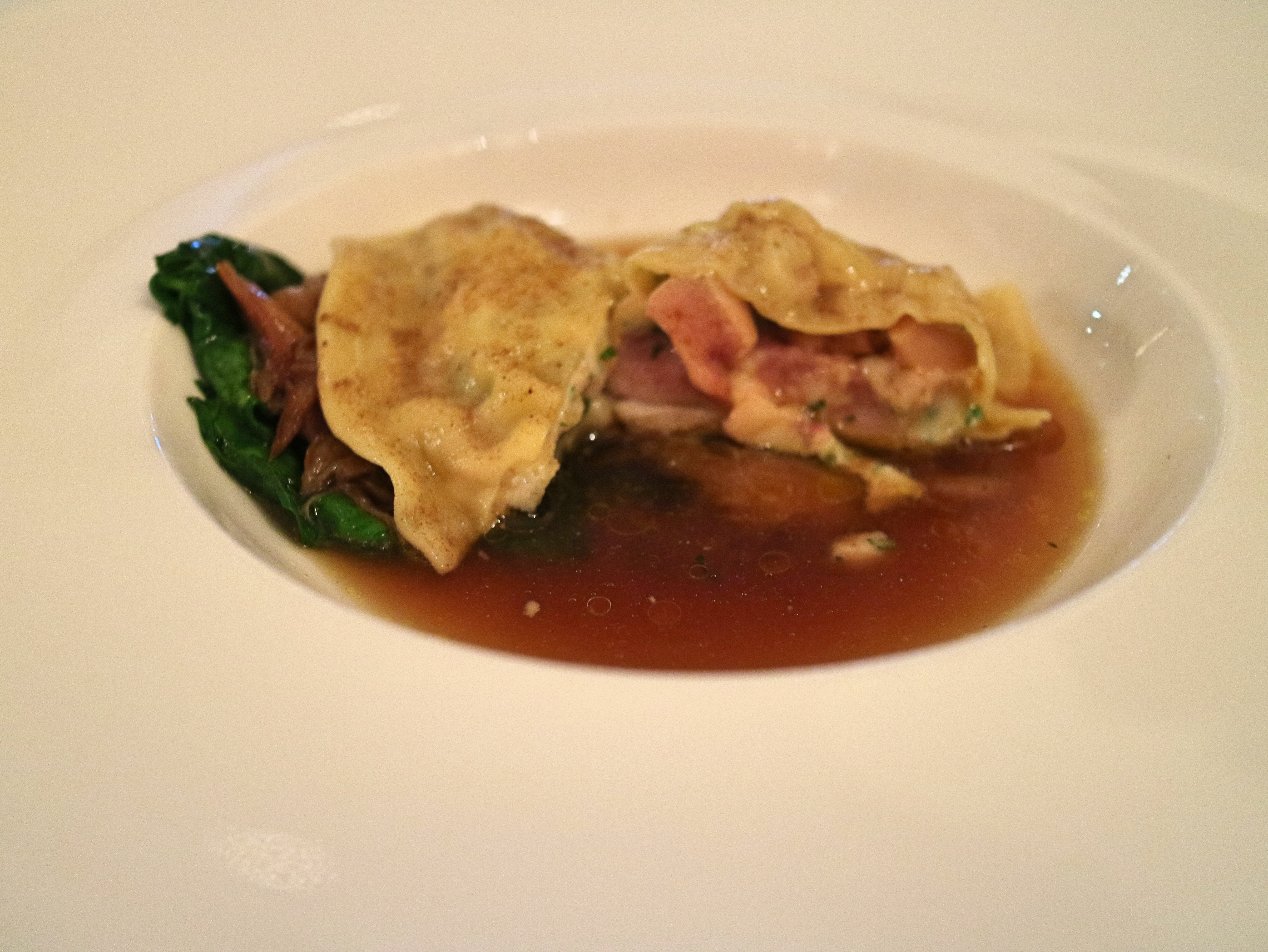 Quail at Lords of The Manor, The Cotswolds