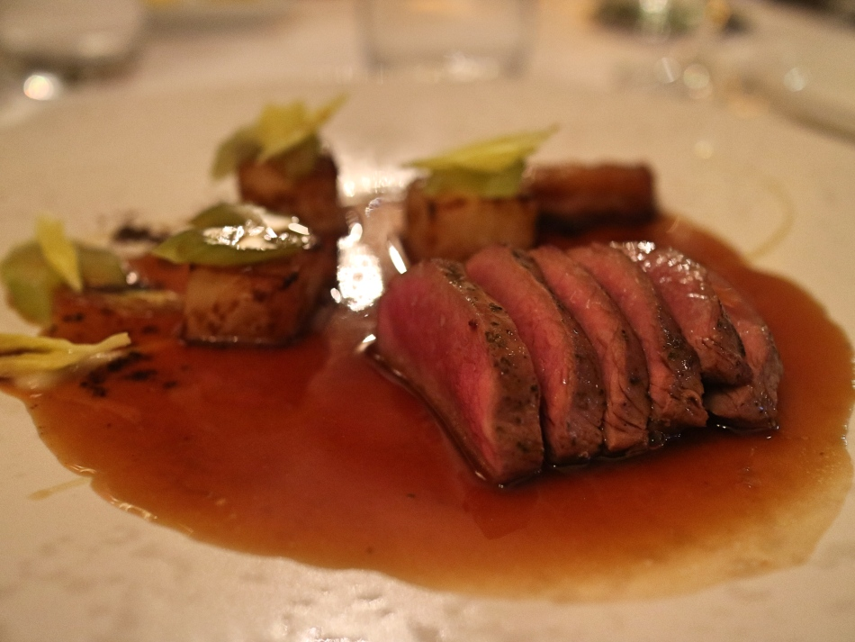Lamb at Lords of The Manor, The Cotswolds