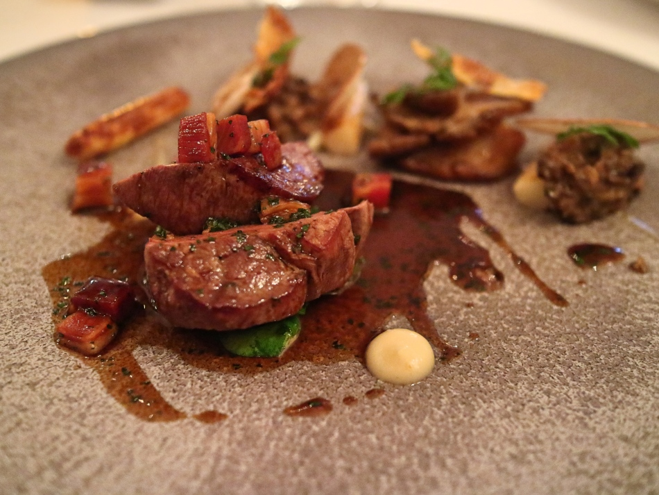 Beef at Lords of The Manor, The Cotswolds