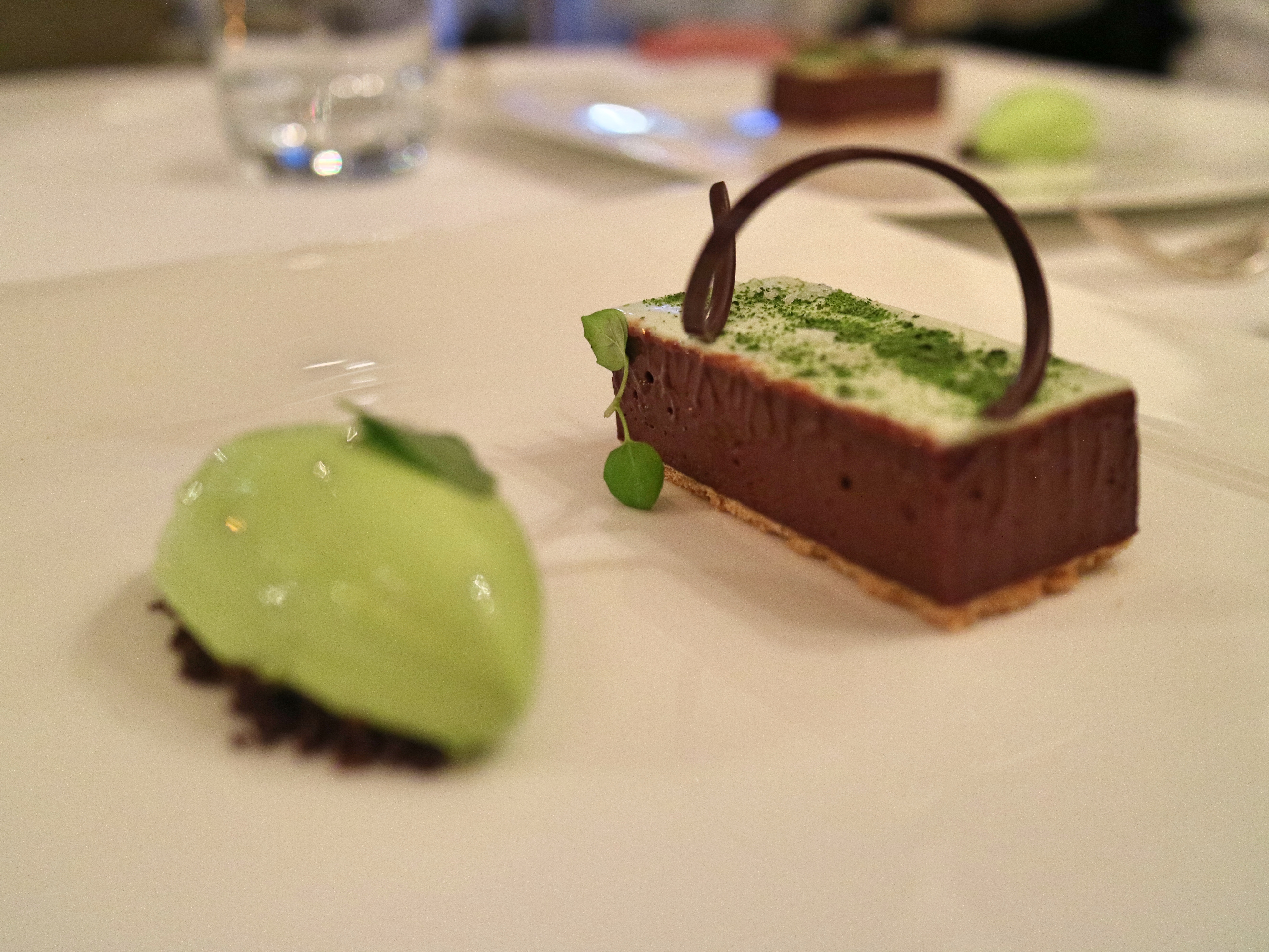 Chocolate at Lords of The Manor, The Cotswolds