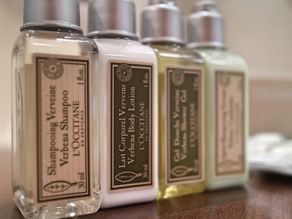 Toiletries at Lords of The Manor, The Cotswolds