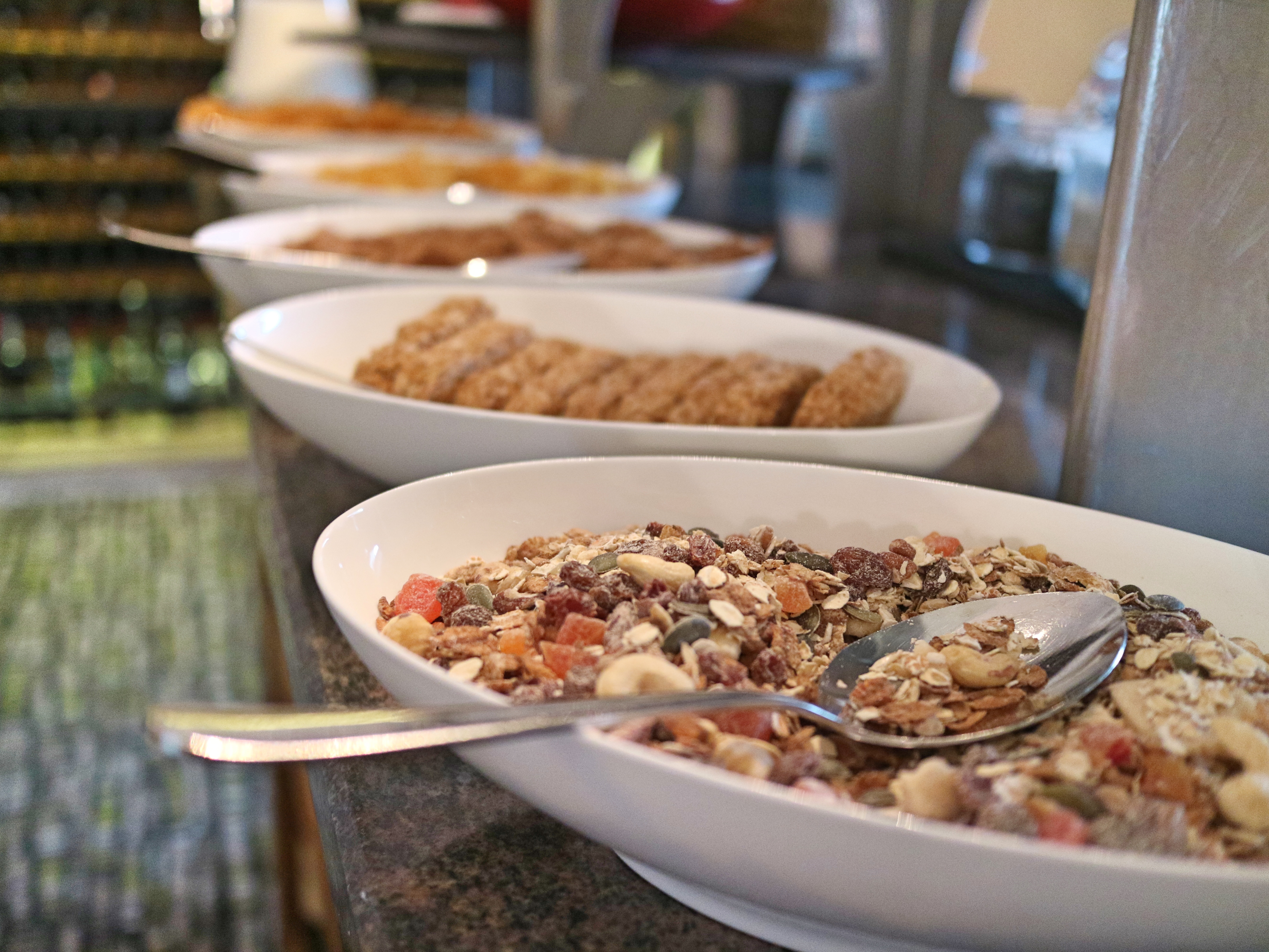 Continental breakfast at Lords of Manor, The Cotswolds