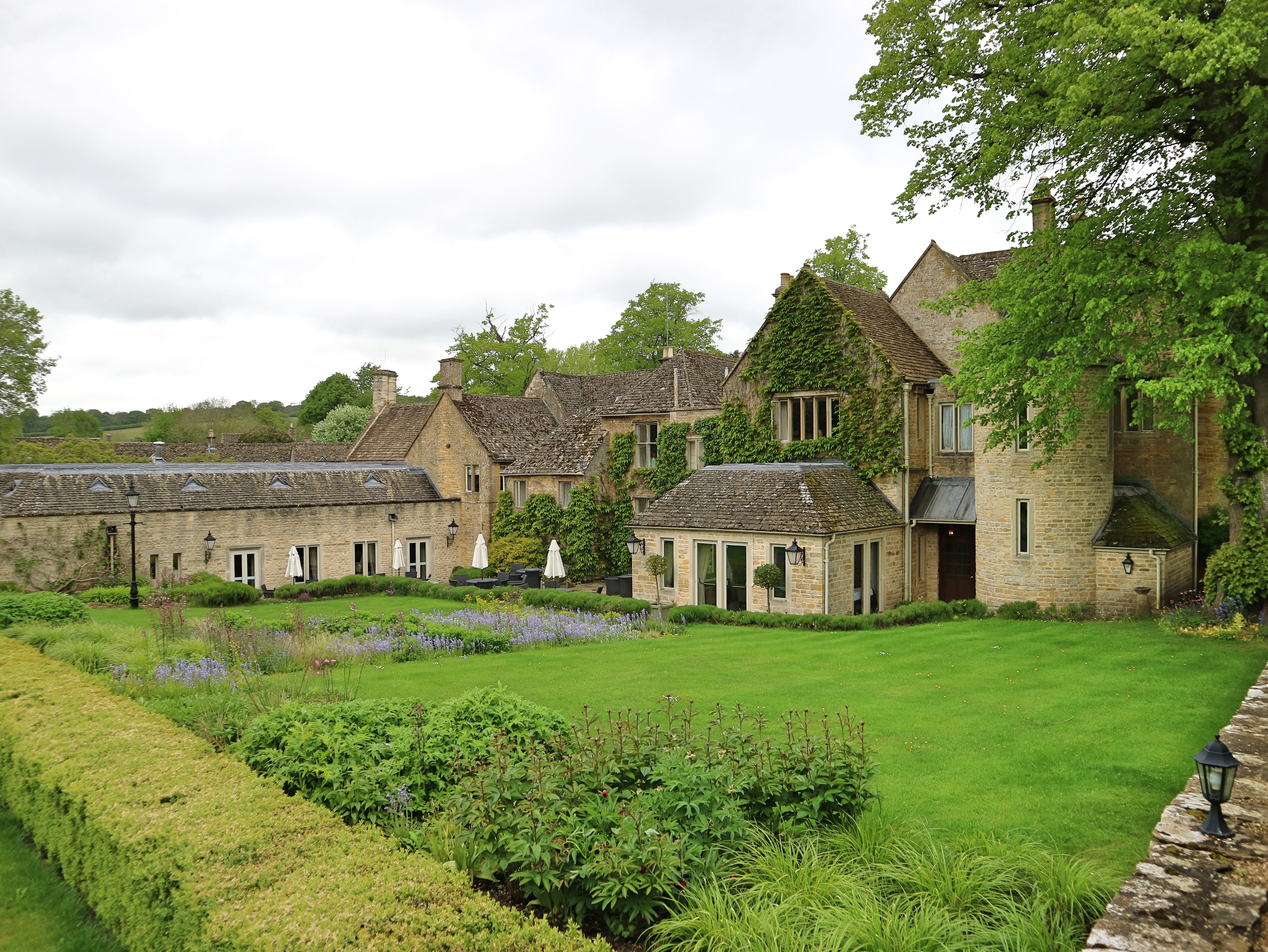 Grounds at Lords of the Manor, The Cotswolds, England