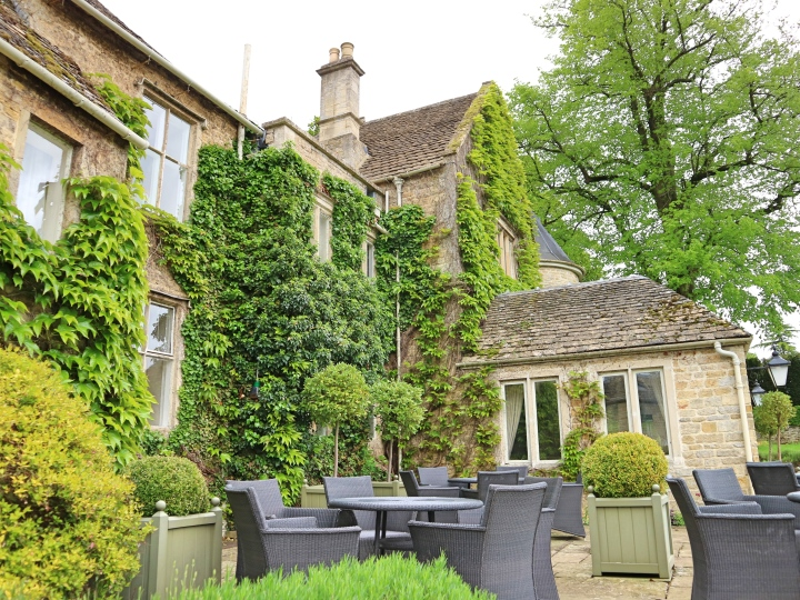 Sit outside at Lords of The Manor, The Cotswolds