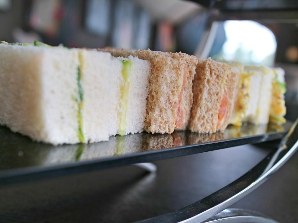 Sandwiches at Twr y Felin, St Davids