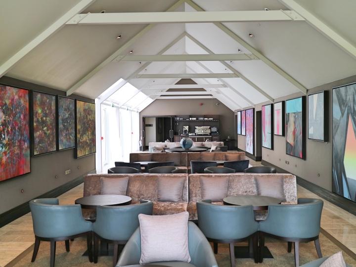 Oriel Lounge at Twr y Felin, St Davids
