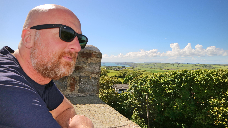 Mr ESLT at Rich Castle, Pembrokeshire Coast