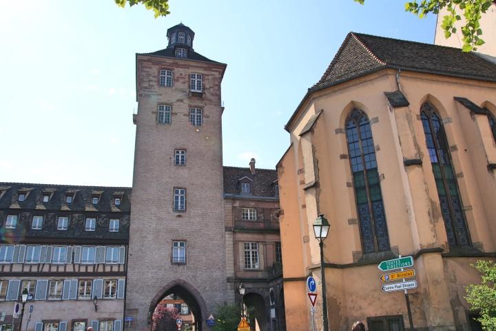Hospital in Strasbourg, France
