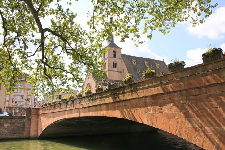 Bridge in Strasbourg, France