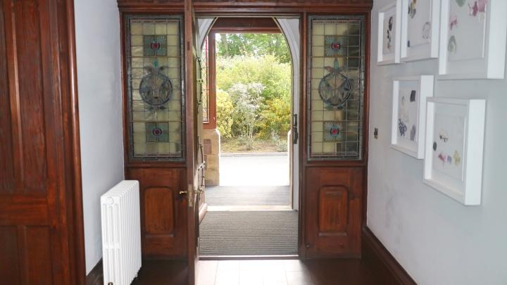 Interior at Penrhiw Hotel, St Davids, Pembrokeshire Coast, Wales