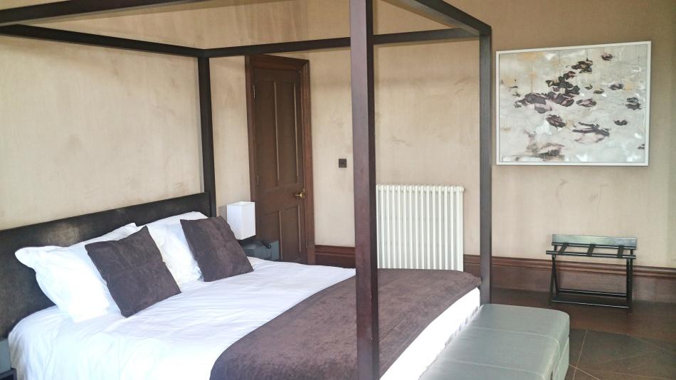 Bedroom at Penrhiw, St Davids, Pembrokeshire Coast, Wales
