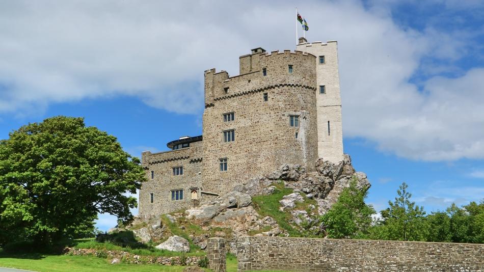 Roch Castle, Pembrokeshire Coast, Wales