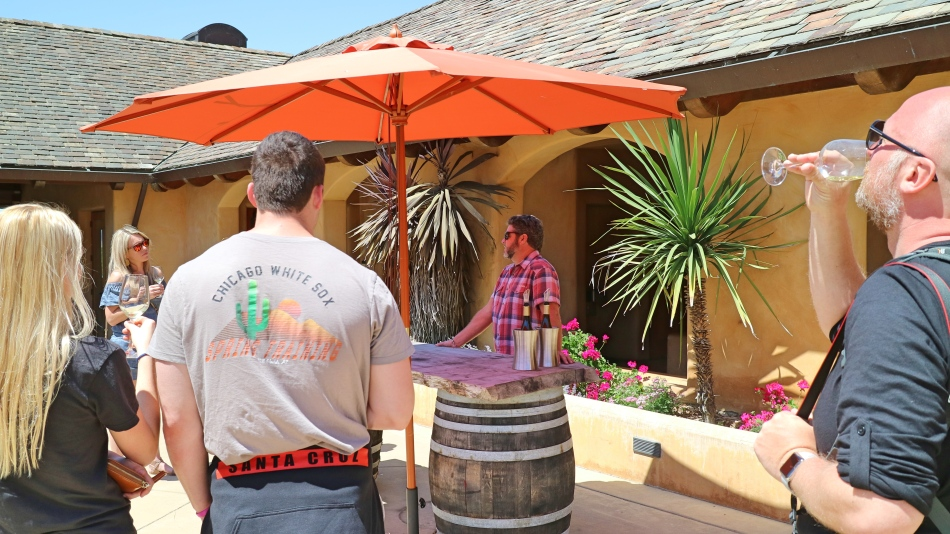 Wine Tasting at Nicolson Ranch, California, USA