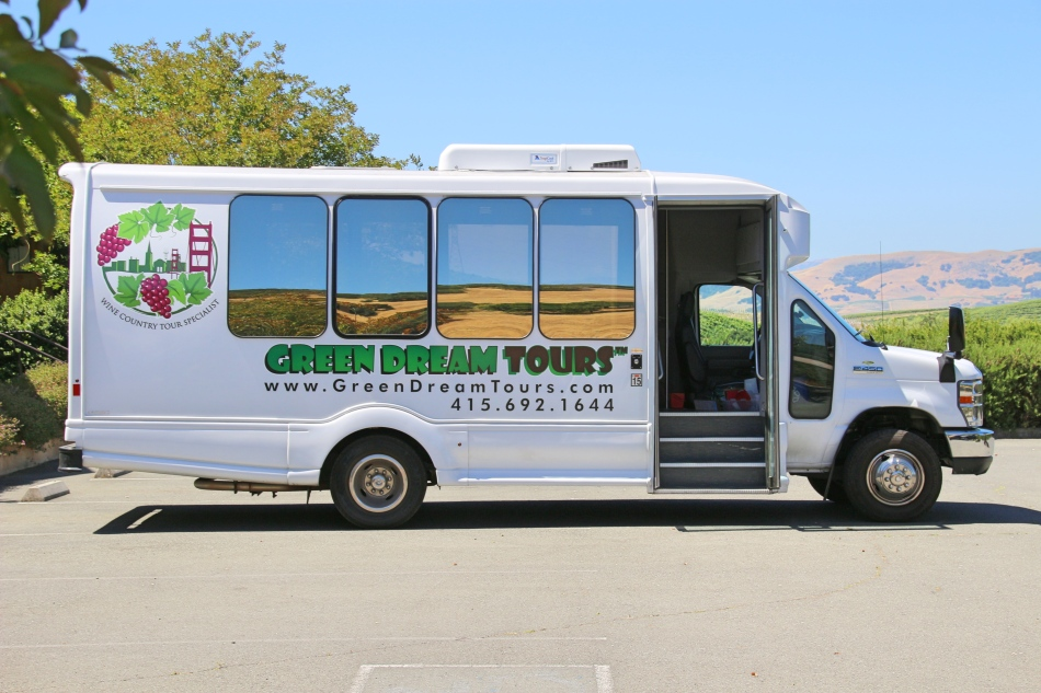 Green Dream Tours Bus, California, USA