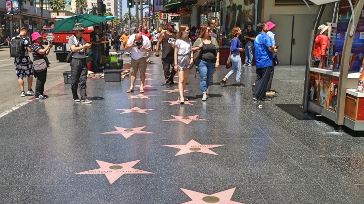 Hollywood Walk of Fame, Hollywood, LA, California, United States